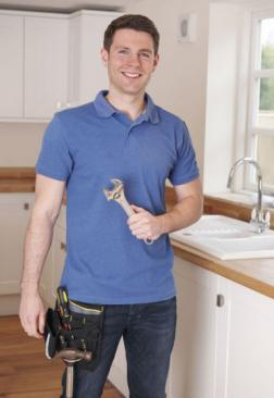 Jack, one of our Los Altos plumbing pros has just finished installing a faucet in the kitchen