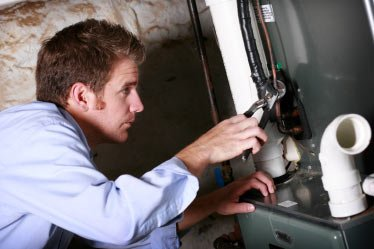 Mike, one of our Los Altos water heater repair experts is working on fixing the unit